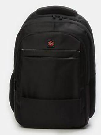 SWISSBRAND Mochila con Compartimiento para Laptop<br>37 x 46.5 x 16 cm<br>Negro