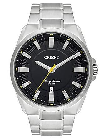 Orient Relógio Orient Masculino Ref: Mbss1354 P1sx Casual Prateado