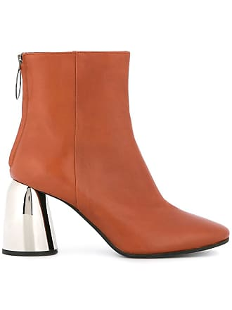 Ellery Ankle boot de couro - Marrom