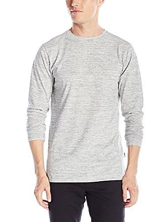 7907ae9007e05d Publish Brand INC. Mens Long Sleeve Crew Neck T-Shirt, Ash Heather,