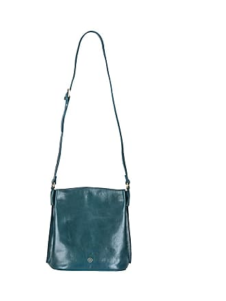 Maxwell Scott Maxwell Scott - Luxury Luxury Petrol Leather Bucket Bag  Handbag For Women 9e0d26f54aecd
