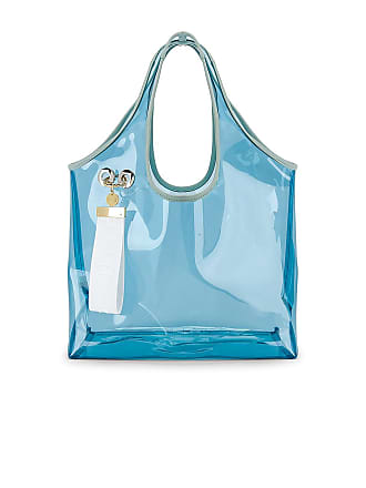 See By Chloé PVC Jay Tote in Blue