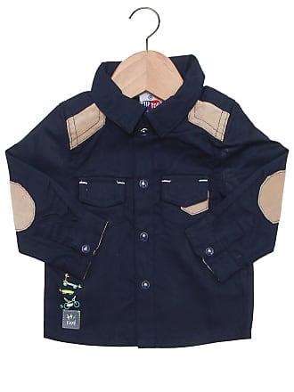 Tip Top Camisa Tip Top Recortes Azul