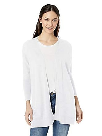 Daily Ritual Womens Lightweight Cocoon Sweater, White,Large