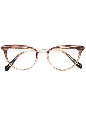 Oliver Peoples Armação de óculos Theadora - Marrom