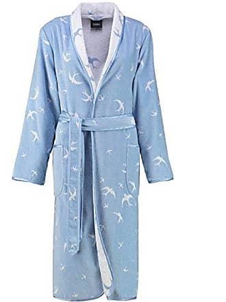 5616c737d3d356 MichaelaX-Fashion-Trade Cawö - Damen Walkvelours Bademantel mit Schalkragen  (2331),