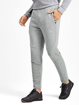 Puma Evostripe Mens Pants, Medium Grey Heather, size 2X Large, Clothing