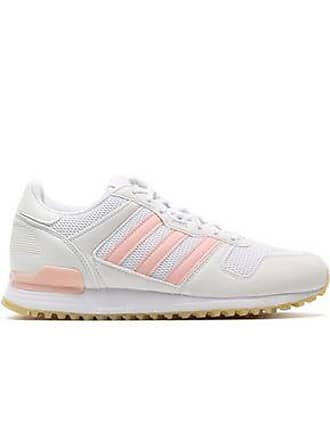 3d714600861871 adidas Adidas Originals Woman Faux Suede-trimmed Mesh Sneakers White Size  4.5
