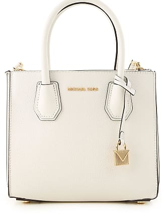 e3e57a0596 Michael Kors Borsa a Mano On Sale, Bianco Ottico, pelle, 2017, one