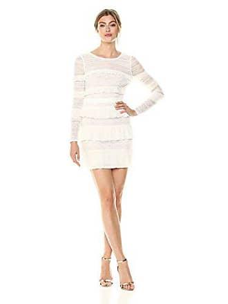 Bcbgmaxazria BCBGMax Azria Womens Darin Floral Lace Dress, Off Off White, 6