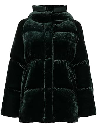 afc90be63794 Moncler Butor Velvet Padded Coat - Green