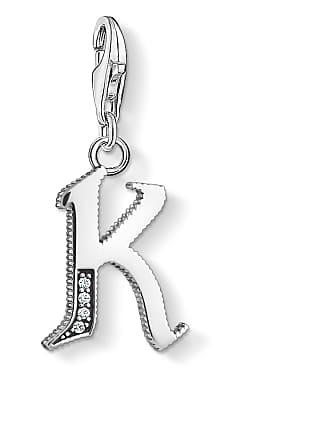Thomas Sabo Thomas Sabo Charm pendant letter K silver silver-coloured 1591-643-21