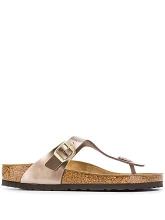 Birkenstock Gizeh Birko-Flor sandals - Metálico
