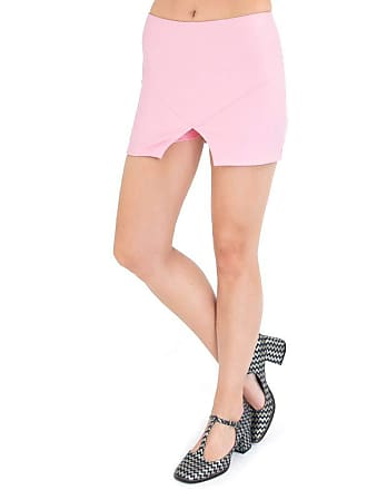 Lucy in the Sky Short saia rosa P