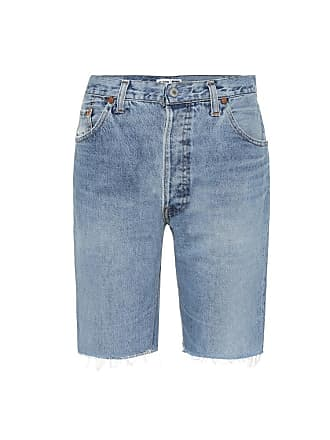 Re/Done The Long denim shorts