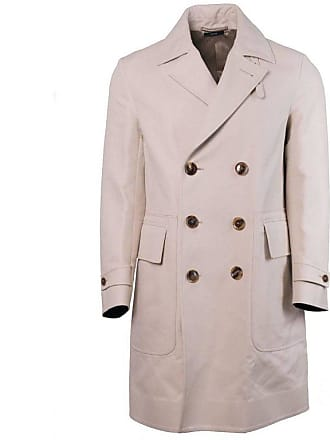d04e37b12090 Tom Ford Mens Beige 100% Cotton Trench Style Raincoat