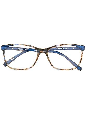 Etnia Barcelona Armação de óculos Weimar retangular - Azul