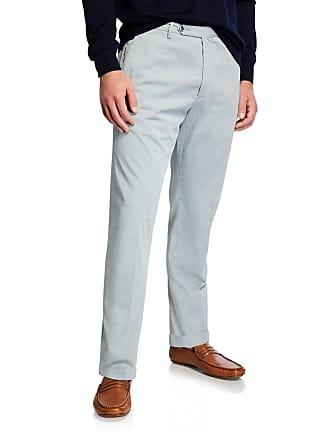 Zanella Mens Garment Dye Stretch Poplin Pants