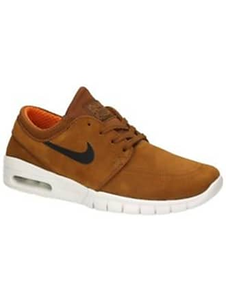 hot sale online 8b92b 49acb Nike Stefan Janoski Max Leather Sneakers hazelnut  black  ivory  cly