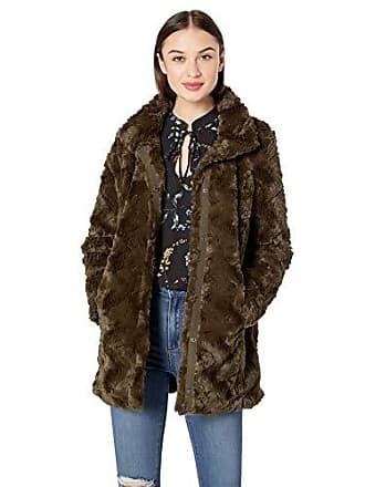 d0c36f057d6 Vero Moda Womens Curl High Neck Faux Fur Jacket