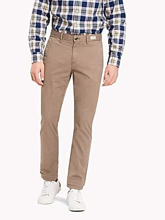 Pantalons Tommy Hilfiger – Homme Chino straight fit Walnut Homme, Pantalons