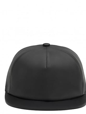 Giuseppe Zanotti Fabric and leather hat TRACEY 1671e2ff096