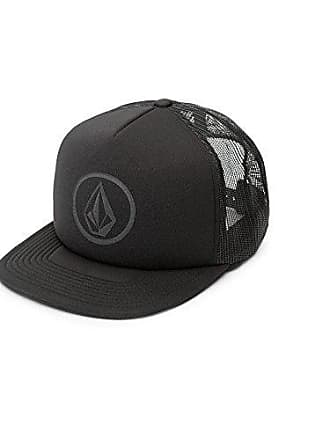 Volcom Mens Full Frontal Cheese 5 Panel Trucker Hat, Stealth, One Size Fits All