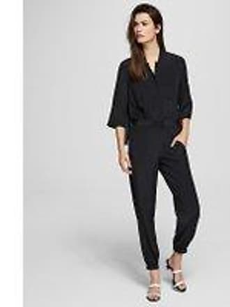 Karl Lagerfeld SILK JUMPSUIT WITH PLEATED BACK