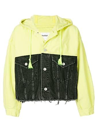 Doublet two-tone denim jacket - Black
