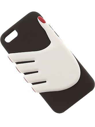 Lulu Guinness iPhone Cases, Iphone 6 And 7 Case, Black, Rubber, 2017, One size