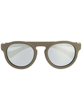 Moncler Óculos de sol redondo - Verde