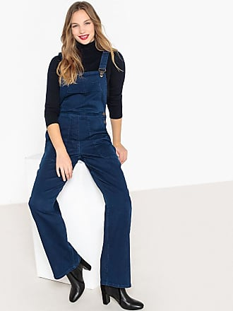 6d88a17bba58 La Redoute Collections Latzhose, weite Passform, Denim - blau - La Redoute  Collections