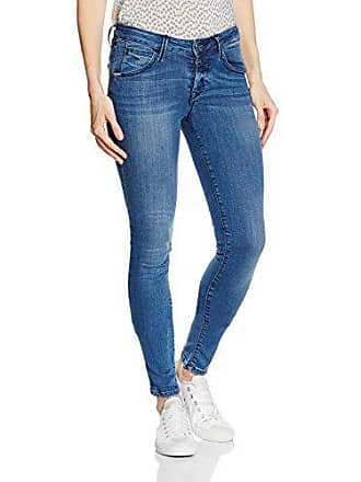 8dc79a4967a2d3 Fornarina Damen Jeanshose Eva-Stretch Denim Pant, (Middel Blau YV), W28