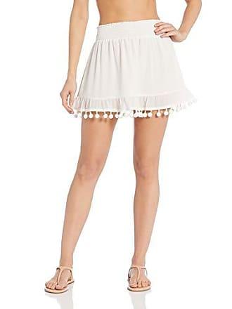 Ramy Brook Womens Stevie Skirt, White, Large