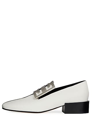 d1dfdcf12f1 Givenchy Bicolor Leather High-Vamp Loafer with 4G Logo