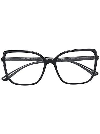 Dolce & Gabbana Eyewear Óculos de grau quadrado - Preto