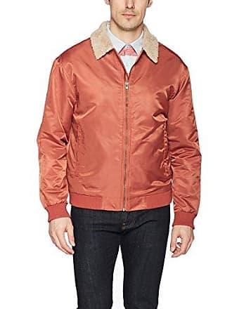 Zanerobe Mens Nylon Oversized Yeti Jacket, Bronze, M