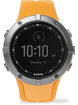 Suunto Spartan Sport Gps Stainless Steel And Silicone Watch - Saffron