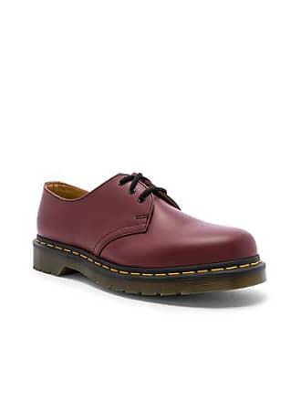 Dr. Martens 1461 3-Eye Shoe in Red