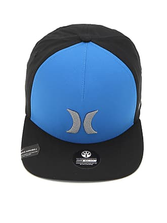 Hurley Boné Hurley Locked Nike Dri-Fit Azul Preto a8e0368a624