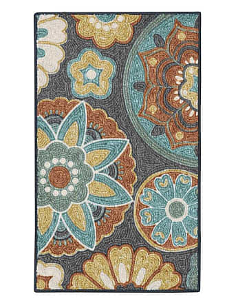 Better Homes & Gardens Suzani Area Rug Tan Multi - HY17-D1-010-077
