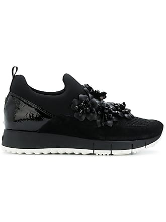 Liu Jo floral appliqué sneakers - Black