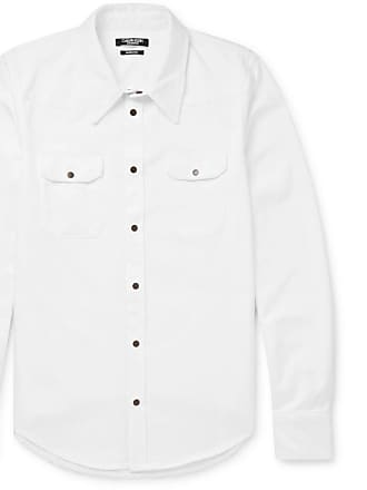 CALVIN KLEIN 205W39NYC Cotton-twill Shirt - White