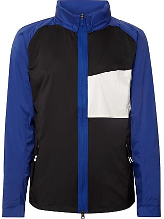timeless design b9a33 1c6a5 Nike Shield Colour-block Nylon Golf Jacket - Blue