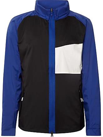 Nike Shield Colour-block Nylon Golf Jacket - Blue