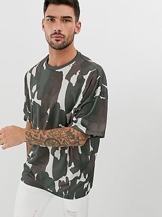83d8a15e96b55 Asos T-shirt oversize à imprimé camouflage sur lensemble - Multi