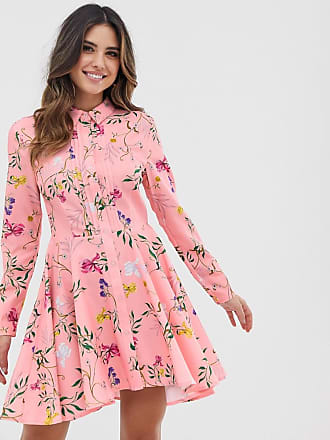 Unique21 Unique21 skater hem shirt dress - Pink