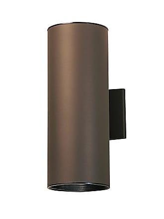 Kichler Signature 2-Light Wall Lantern in Architectural Bronze