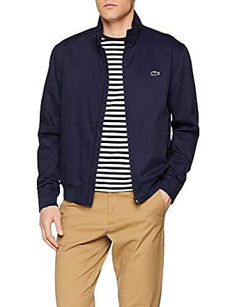 092a5be6b7 Lacoste BH3325 Blouson Homme Bleu (Marine 166) Large (Taille Fabricant:52)