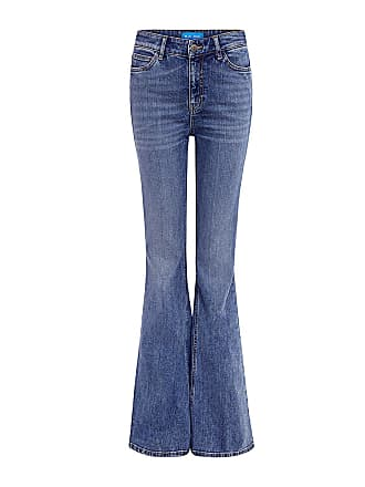 Mih Jeans Stevie High Rise Flare Jeans Berg Wash Ber